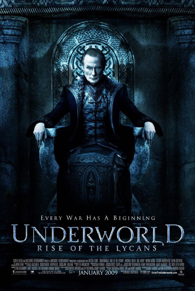 Underworld: Rise of the Lycans -  cover