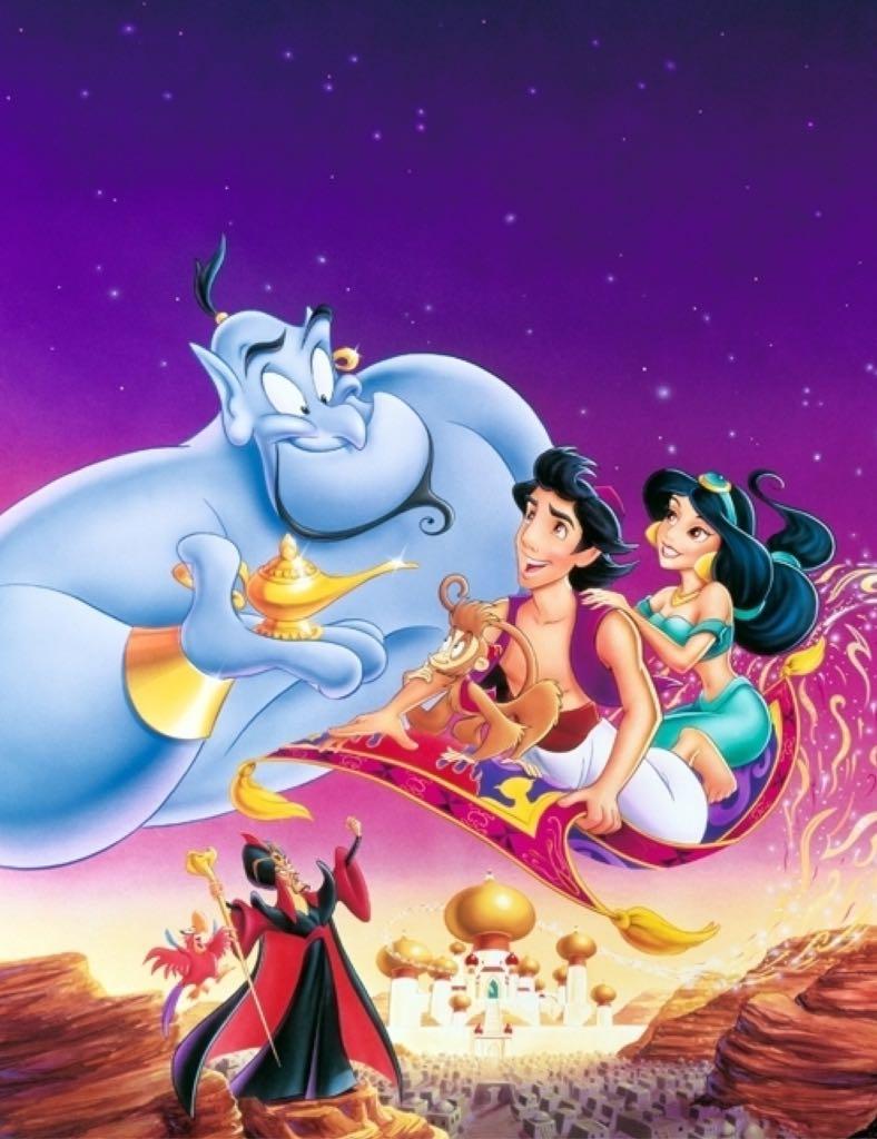 Disney Aladdin -  cover