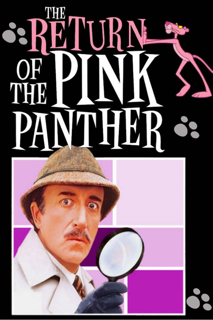 The Return Of The Pink Panther -  cover