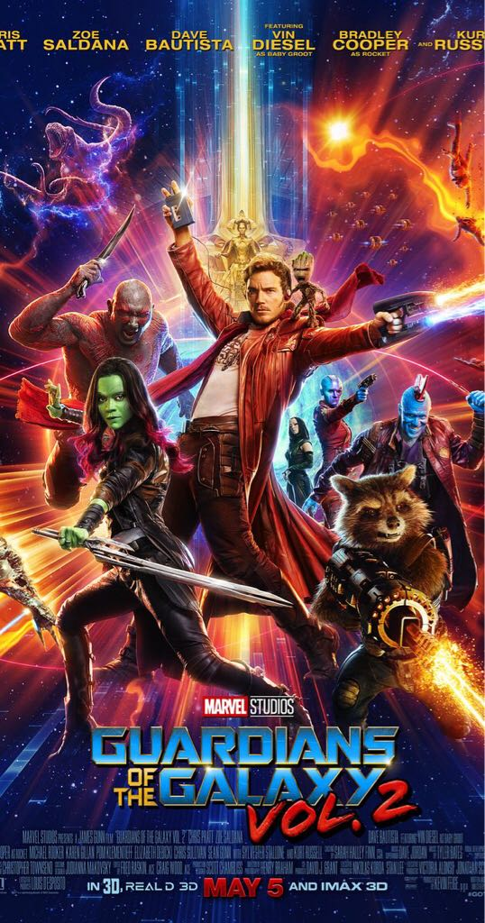 Guardians Of The Galaxy Vol. 2 - Blu-ray cover
