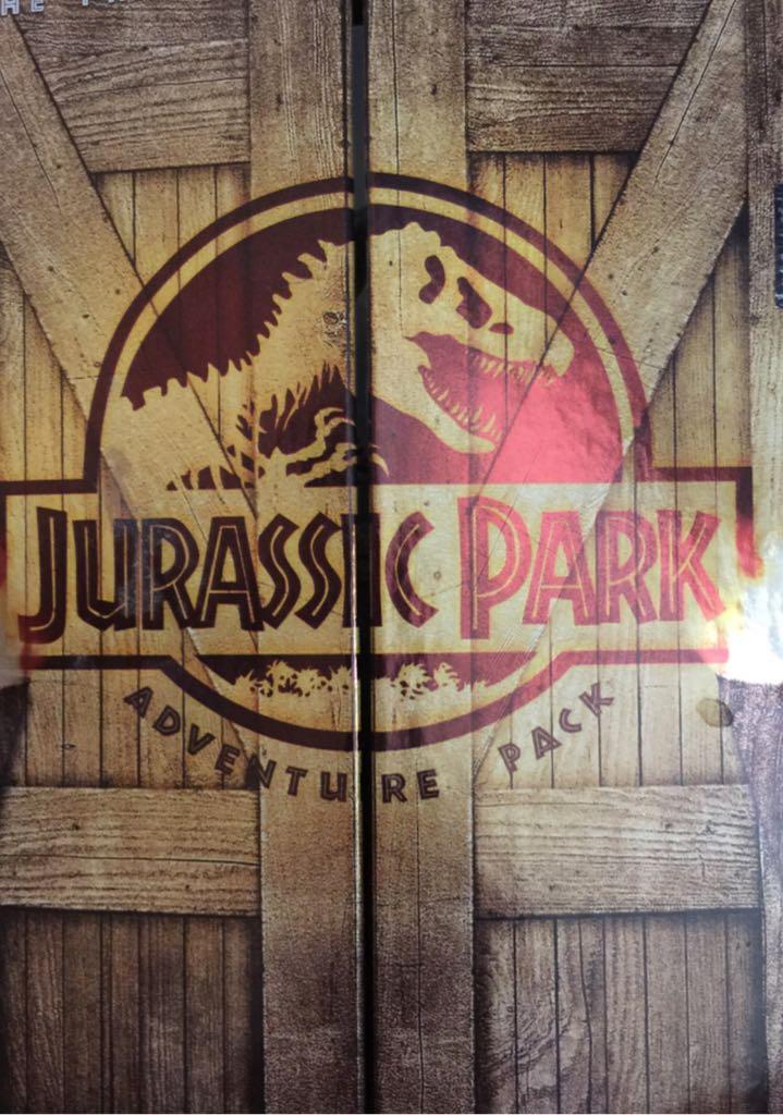 Jurassic Park -  cover