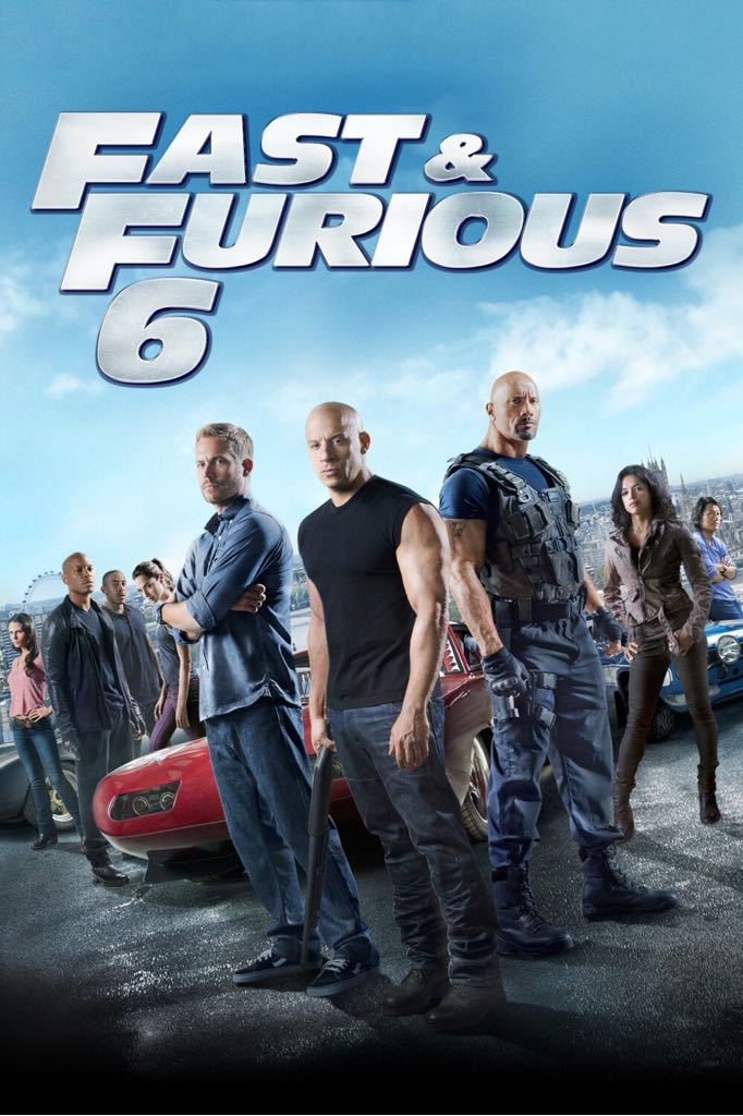 Fast And Furious 6  -  cover