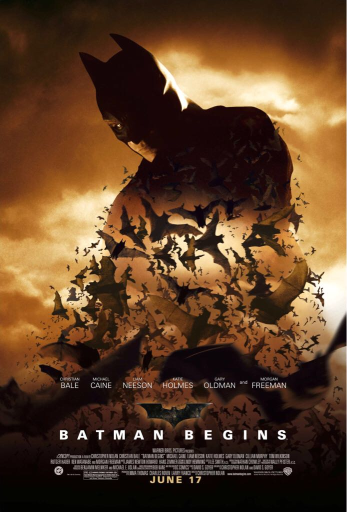 Batman Begins -  cover