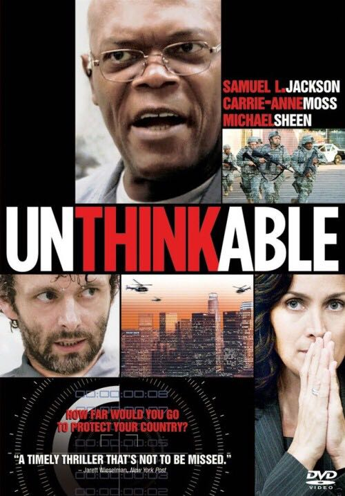 Unthinkable -  cover