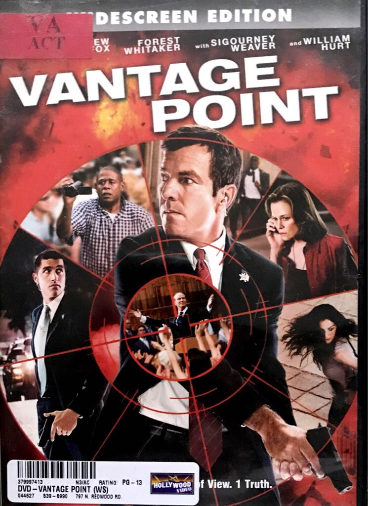 Vantage Point -  cover