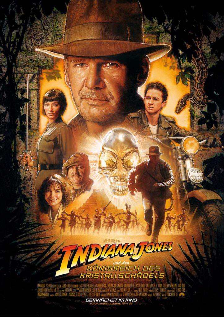 Indiana Jones and the Kingdom of the Crystal Skull -  cover