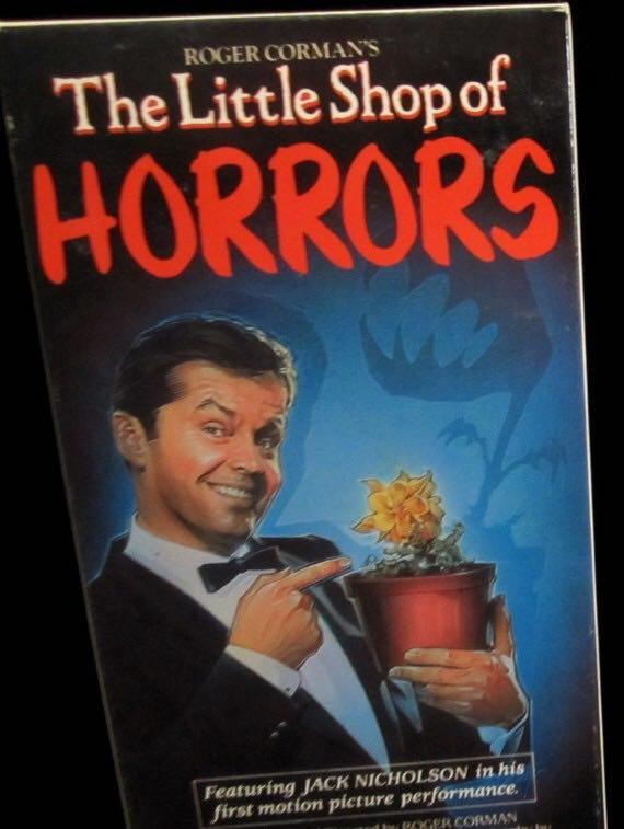 The Little Shop Of Horror'S Jack Nicholson -  cover