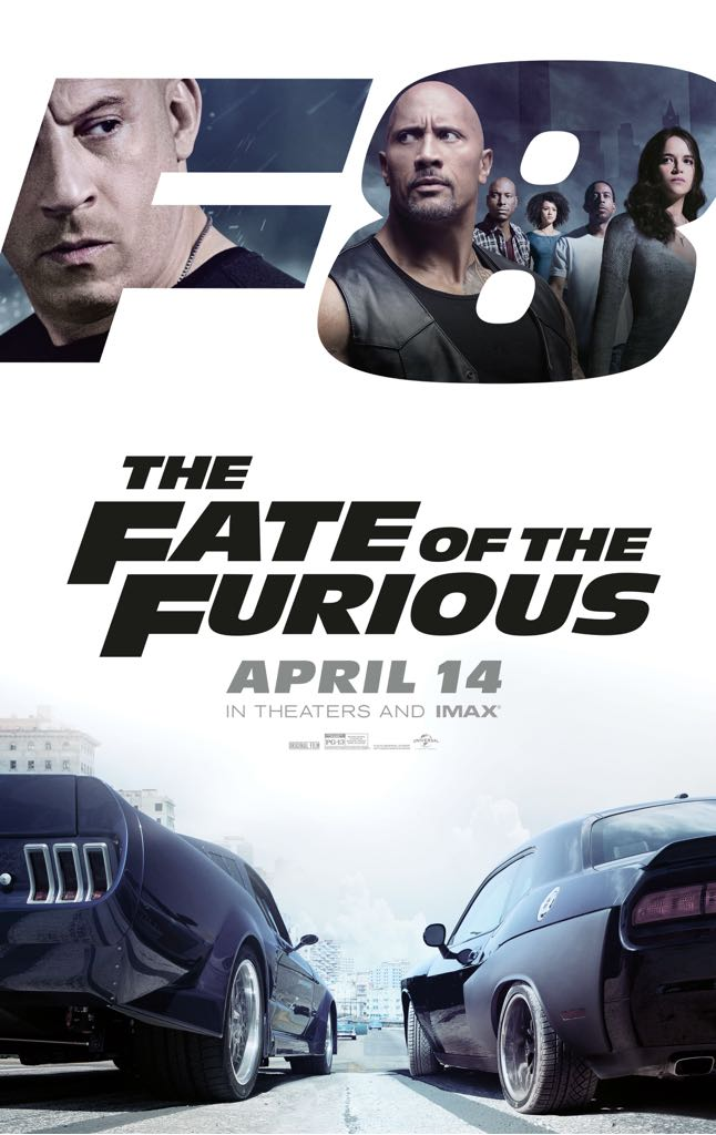 The Fate of the Furious -  cover