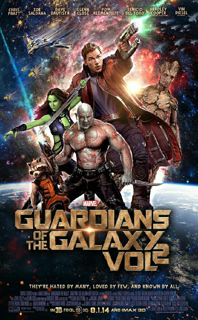 Guardians Of The Galaxy Vol. 2 -  cover