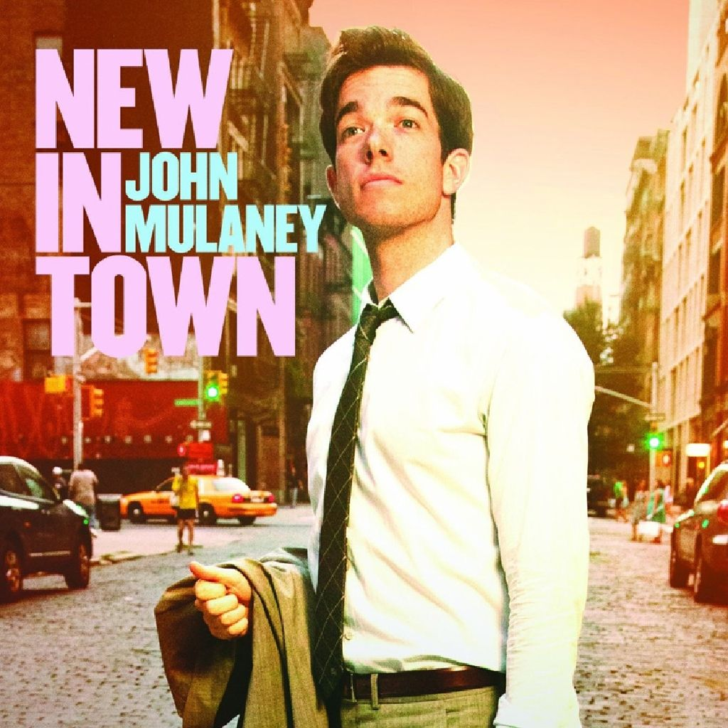 Jon Mulhaney New In Town -  cover