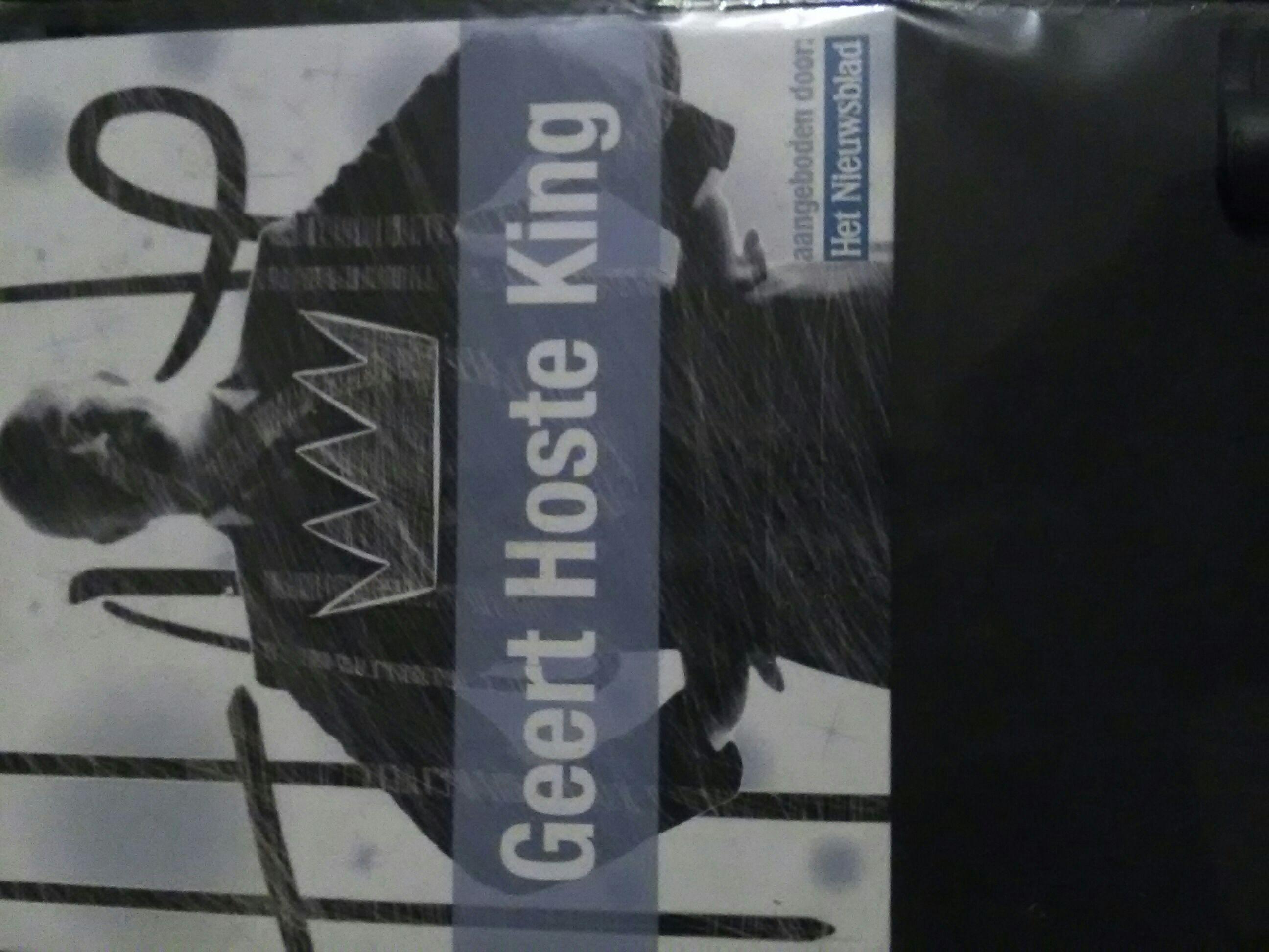 Geert Hoste King -  cover