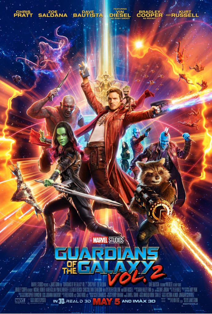 Guardians Of The Galaxy Vol. 2 - DVD cover