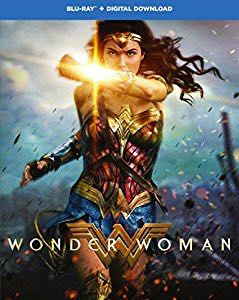 Wonder Woman - Blu-ray cover