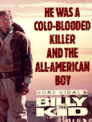 Gore Vidals Billy The Kid -  cover