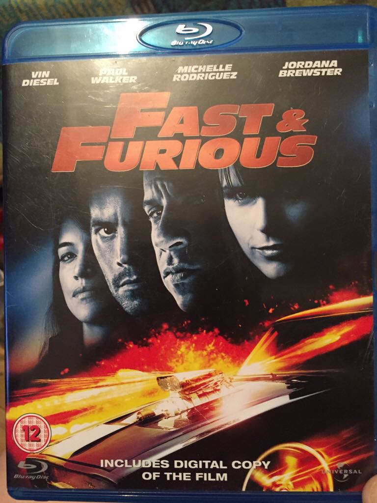 Fast & Furious -  cover