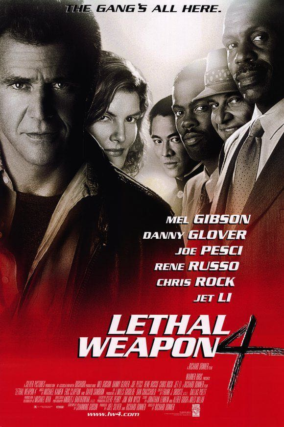 Lethal Weapon 4 -  cover