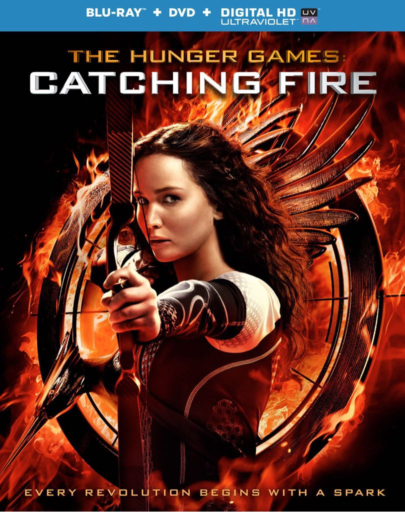 The Hunger Games: Catching Fire -  cover