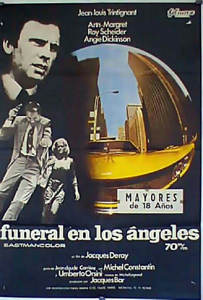 FUNERALE A LOS ANGELES ANN MARGRET ANGIE DICKINSON -  cover