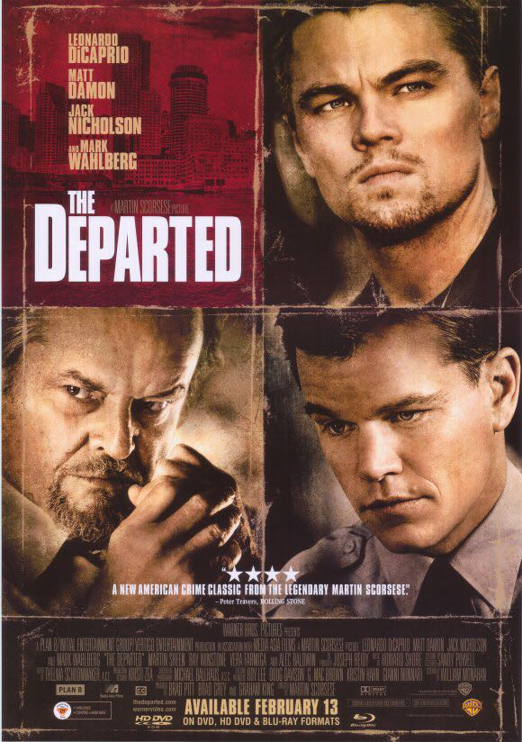 The Departed -  cover