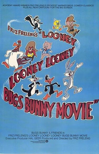 The Looney Looney Looney Bugs Bunny Movie -  cover