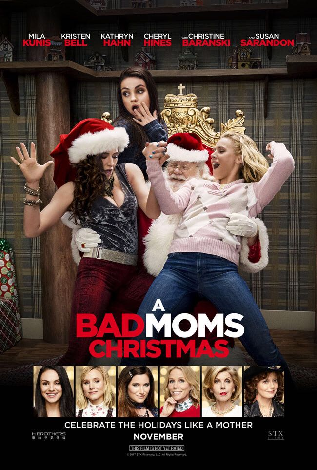 A Bad Moms Christmas -  cover