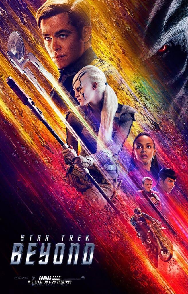 Star Trek 3: Beyond -  cover