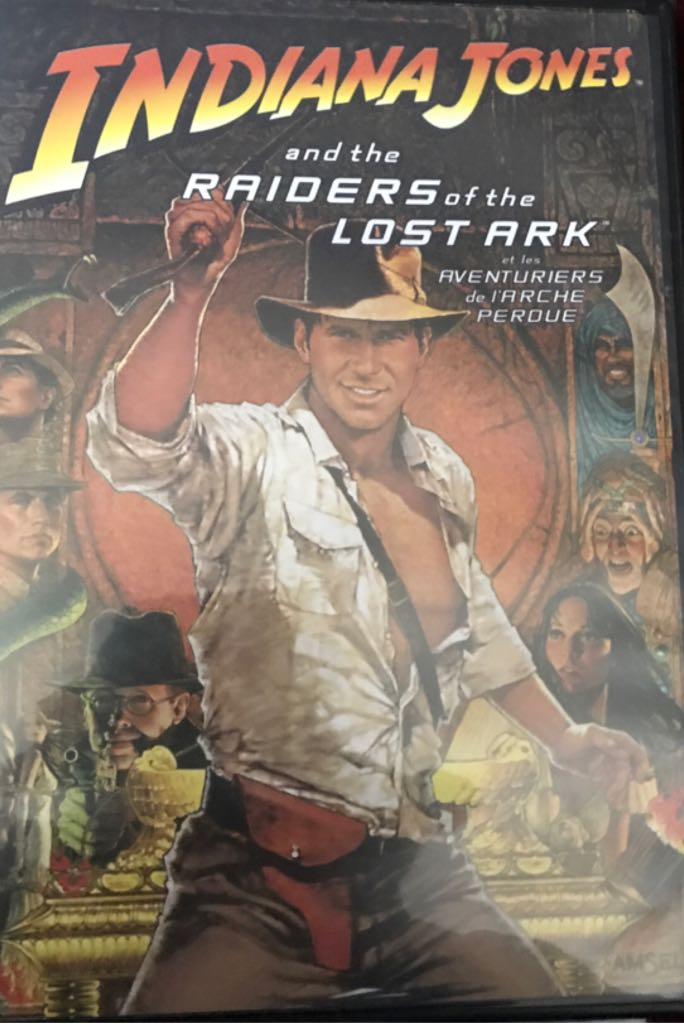 Indiana Jones Raiders Of The Lost Ark -  cover