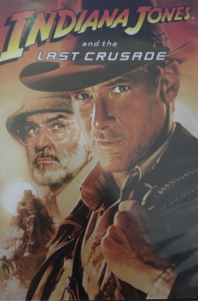 Indiana Jones and the Last Crusade -  cover