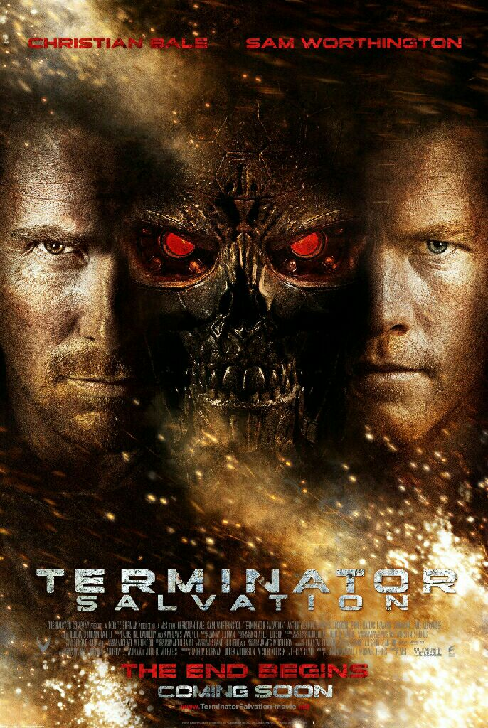Terminator 4 : Salvation -  cover
