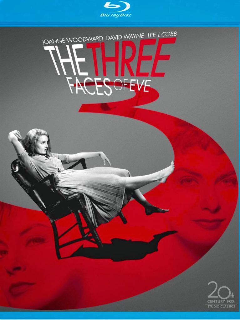The Three Faces Of Eve -  cover