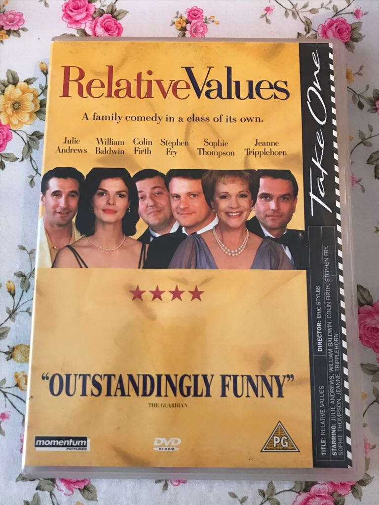 Relative Values -  cover