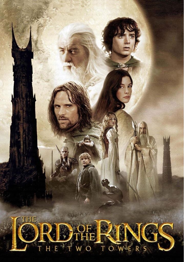 The Lord of the Rings: The Two Towers -  cover