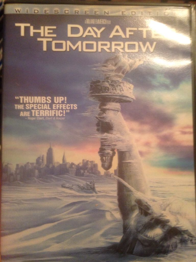 The Day After Tomorrow -  cover