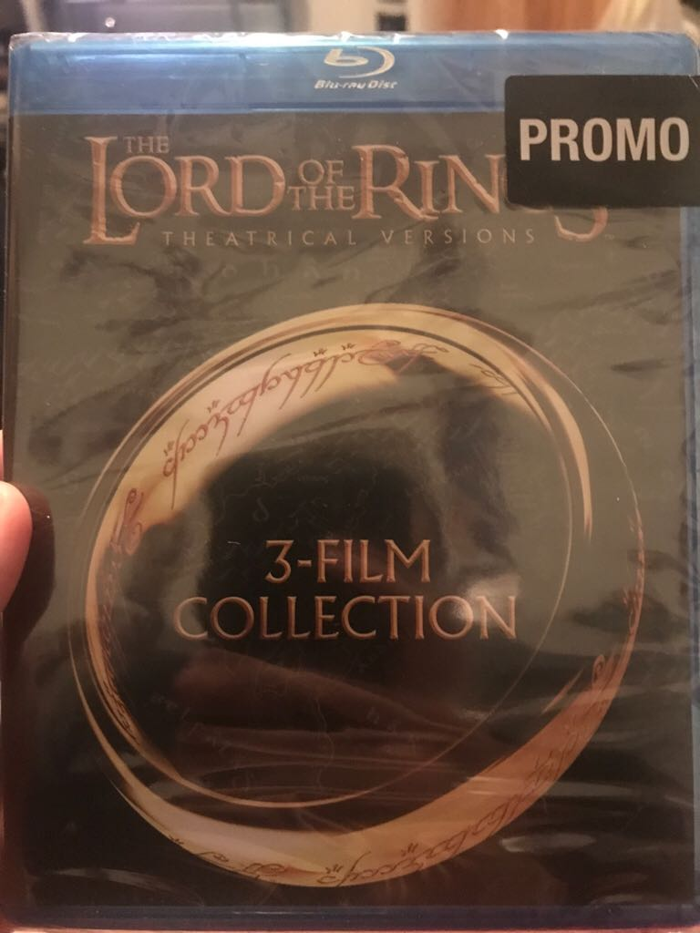 The Lord Of The Rings Trilogy -  cover