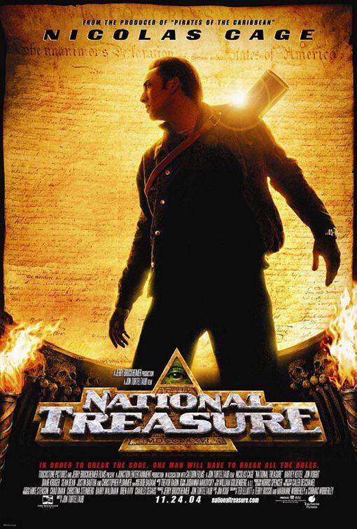 National Treasure -  cover