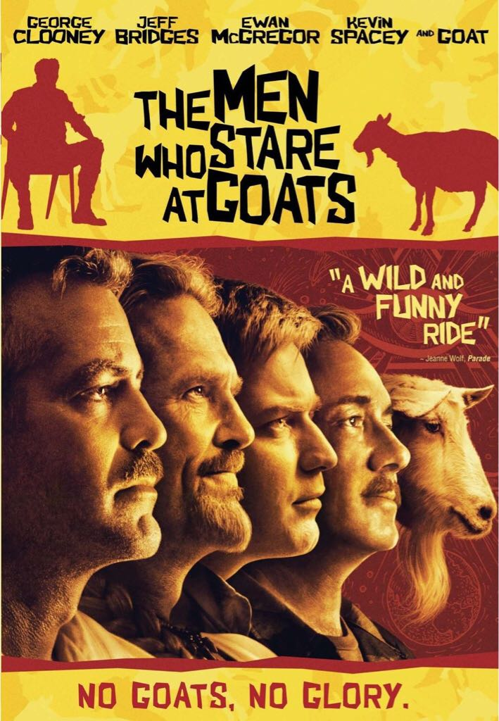 The Men Who Stare at Goats -  cover