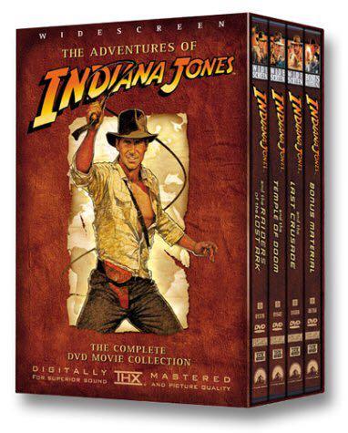The Adventures of Indiana Jones -  cover