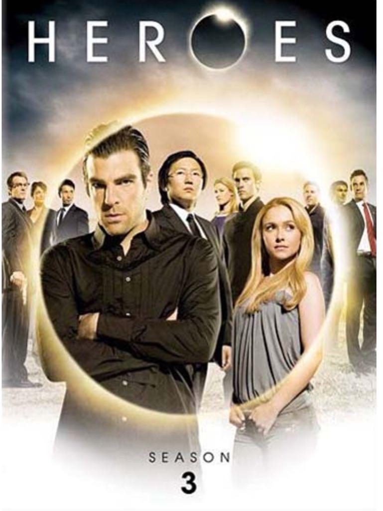 Heroes (Season 3) -  cover