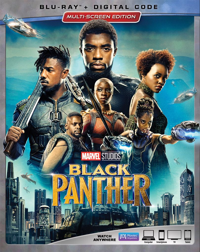 Black Panther - Blu-ray cover