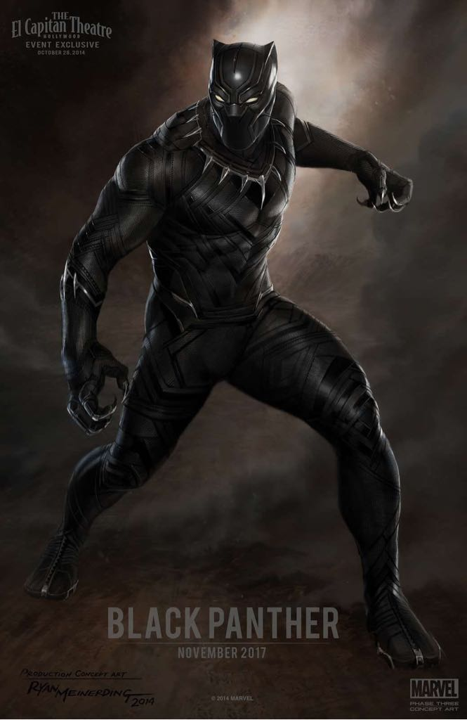 Black Panther -  cover