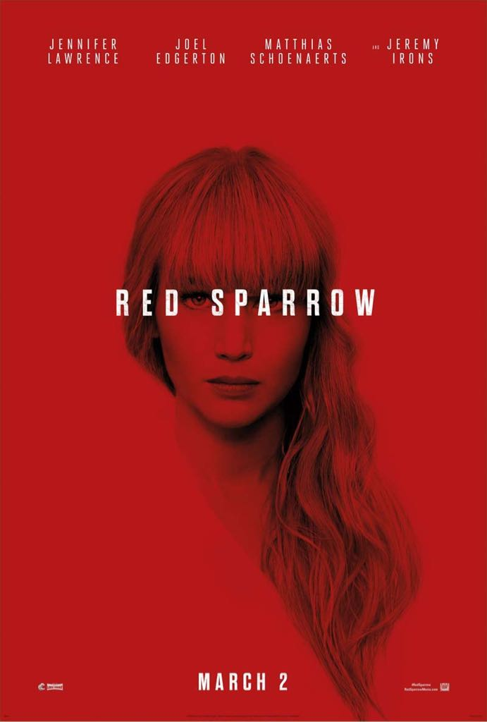 Red Sparrow -  cover