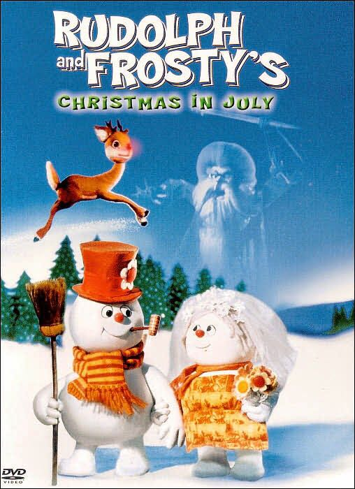 Rudolph And Frosty's Christmas In July -  cover