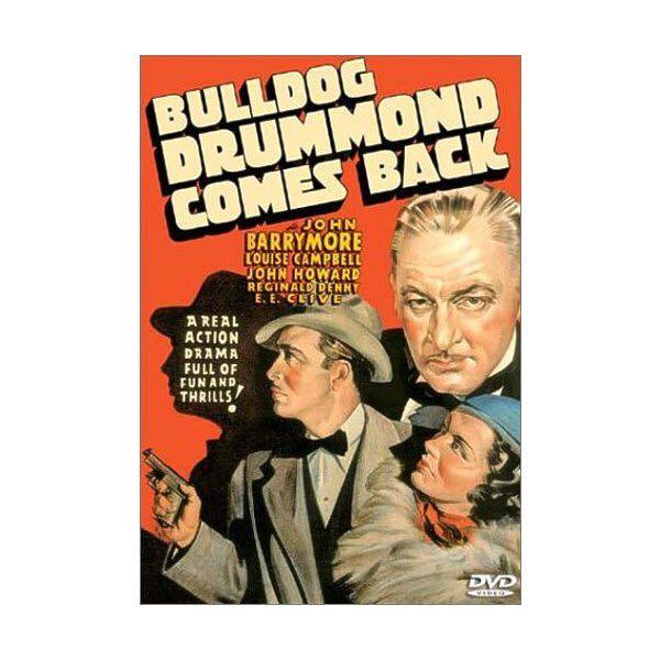 Bulldog Drummond Comes Back -  cover