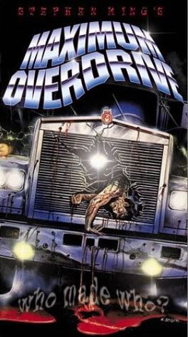 Maximum Overdrive -  cover