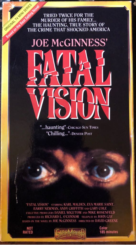 Fatal Vision -  cover