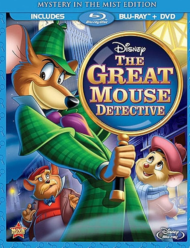The Great Mouse Detective -  cover