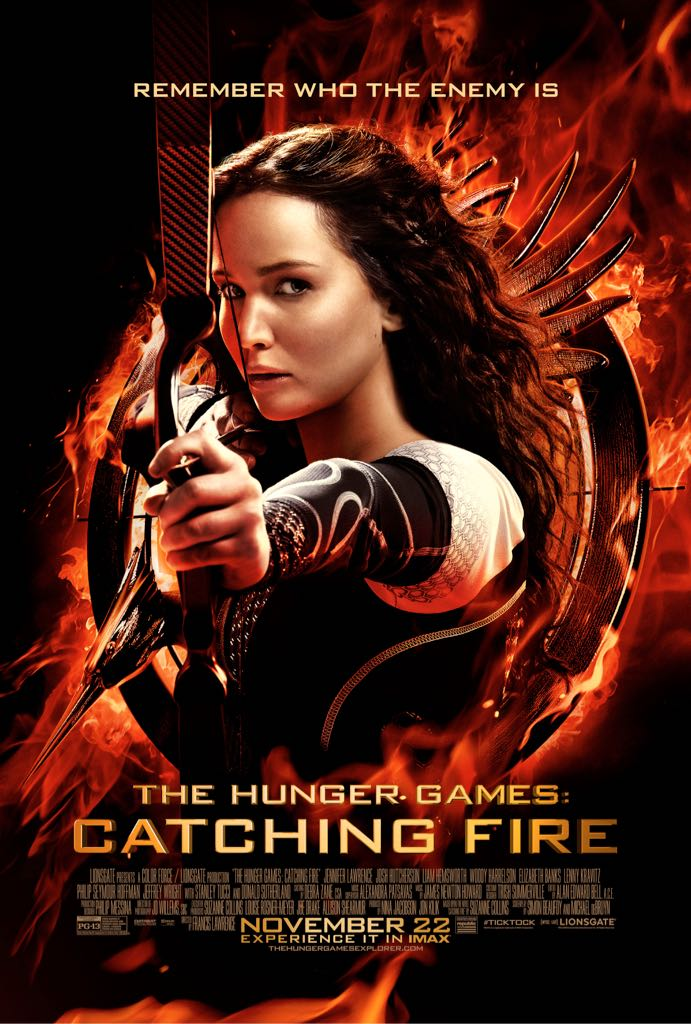 The Hunger Games Catching Fire -  cover