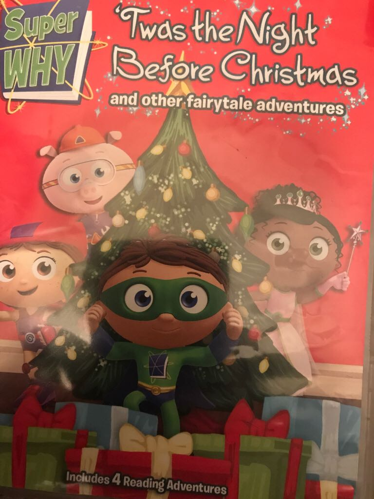 Super WHY Twas The Night Before Christmas -  cover