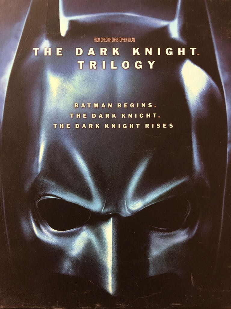 The Dark Knight Trilogy -  cover