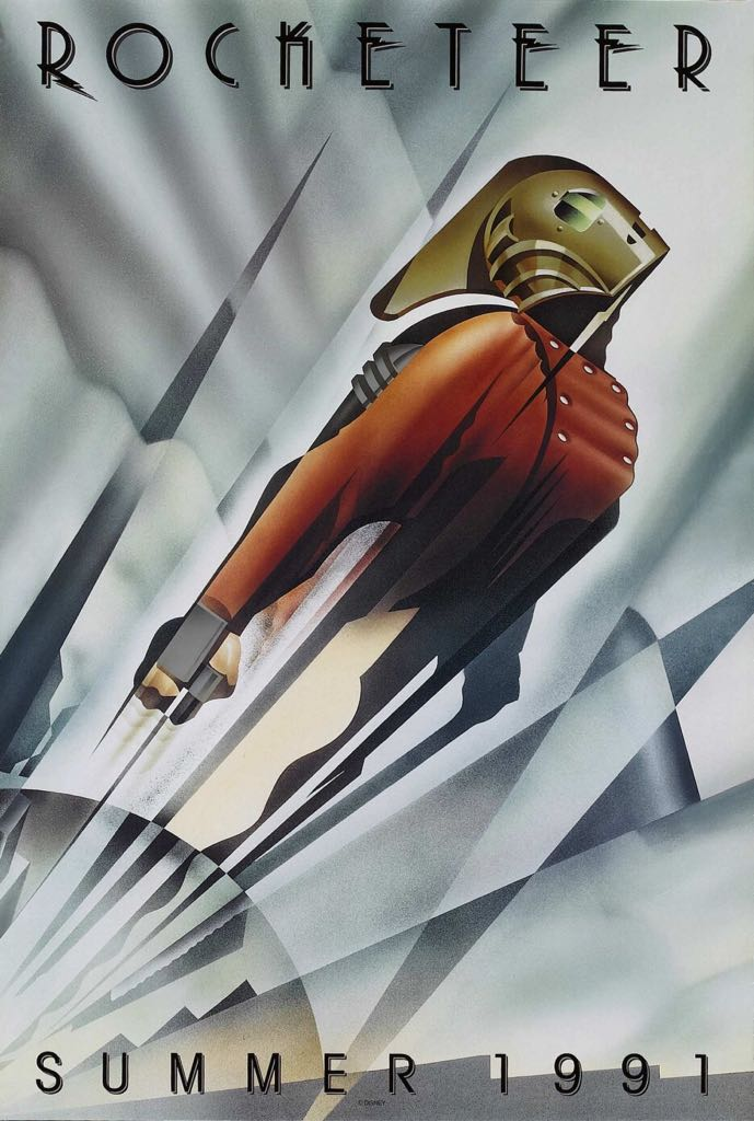 The Rocketeer -  cover